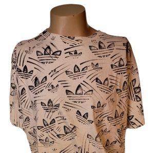 Men's Adidas full print vintage tshirt